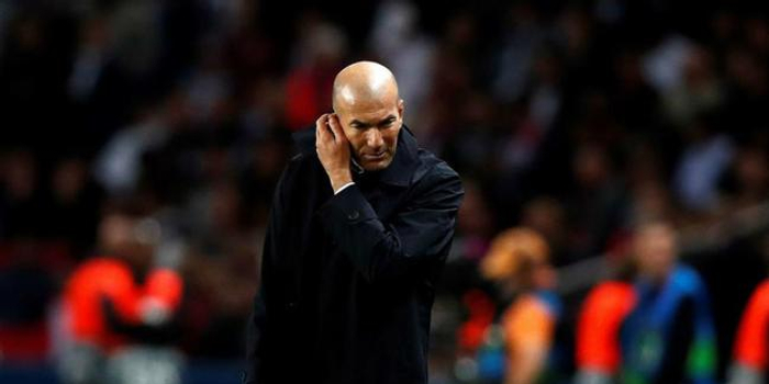 齊達內:皇馬輸在了比賽強度 輸球不怪任何球員