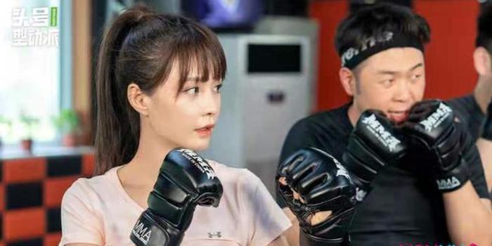 杜海涛代班健身教练训练沈梦辰 颜如晶打拳帅翻