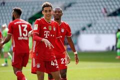 德甲-穆夏拉梅开2度 穆勒助攻 拜仁客场3-2擒狼堡