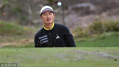 高尔夫世界杯比利时队领先冲冠 中国队并列19位