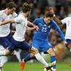 热身-英格兰1-1意大利