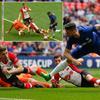 足总杯-吉鲁世界波 切尔西2-0将战曼联