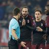 欧联-AC米兰1-3欧联出局 无缘淘汰赛