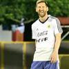 阿根廷训练!梅西阿圭罗玩嗨