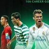 C罗生涯700球!欧洲媒体集体夸