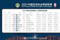 中甲第14轮裁判执法名单 任通执法成都对淄博