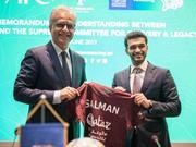 卡塔尔足协联手亚足联 新项目启动惠及100万人