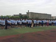 阳光体育走进南昌校园 提高学生对足球运动兴趣