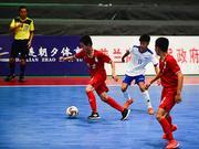 青运会五人制14-15组正式开战 把比赛变成青春聚会