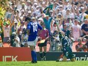 我和世界杯的第一次接触:难忘那个蓝色的背影