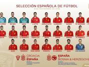 西班牙名单:阿尔巴回归 莫拉塔+米兰尖刀入选