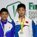 跳水大獎賽中國六金收官 男子三米板無緣金牌