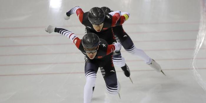 速滑世界杯波兰站 中国队夺得女子追逐赛第四名