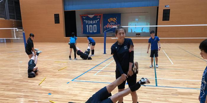 陳馨彤陳博雅日本拉練進行時 珍惜每次觸球機會