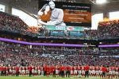 超级碗赛前致敬科比!球员站在24码线上(视频)