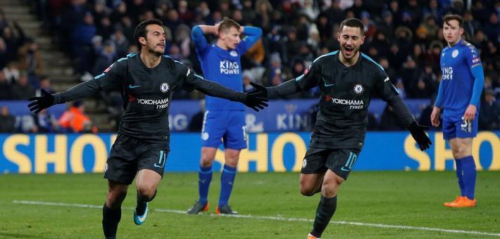 足总杯-莫拉塔破荒 切尔西2-1险胜