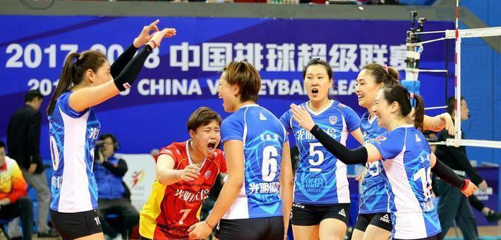 女排联赛决赛IV上海3-0天津