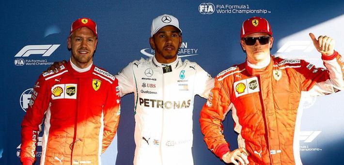 F1澳大利亚站排位赛 汉密尔顿杆位