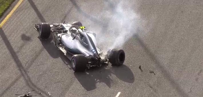F1澳大利亚站排位赛 博塔斯上墙