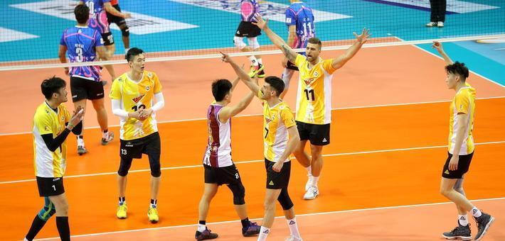 男排决赛第四场上海3-1北京