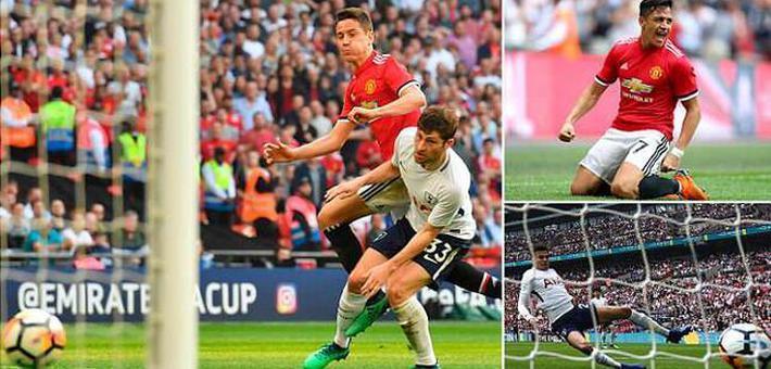 足总杯-曼联2-1逆转热刺晋级决赛