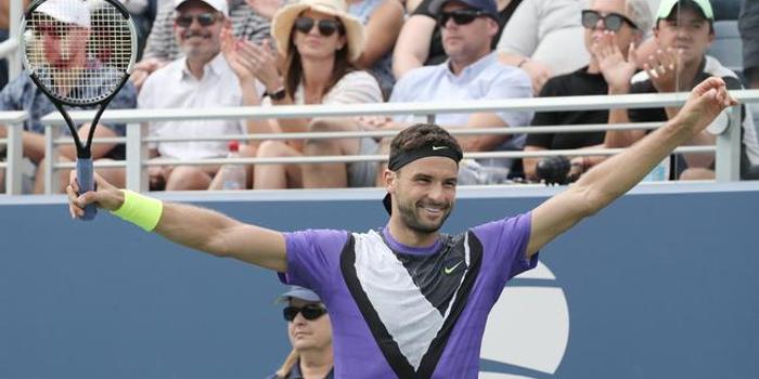 迪米特洛夫摆脱低迷保发 完胜澳新星首进美网8强