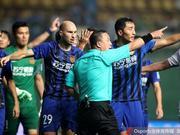 苏宁不满足协杯判罚准备上诉 10天内第2次申诉
