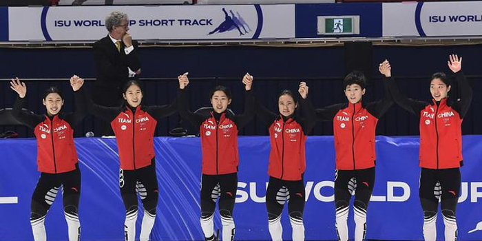 短道世界杯中国连创佳绩 王濛点赞女队进步明显