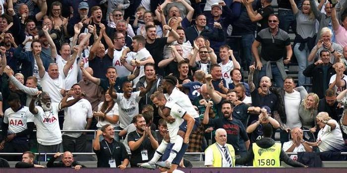英超-凱恩2球 新援世界波 熱刺3-1逆轉勝升班馬