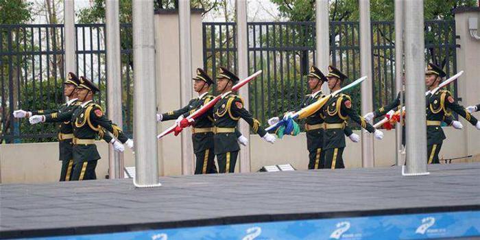 武漢軍運會規模創歷屆之最 解放軍代表團406人參賽
