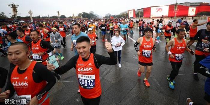 """从小众到大众 中国马拉松跑进""""分众时代"""""""