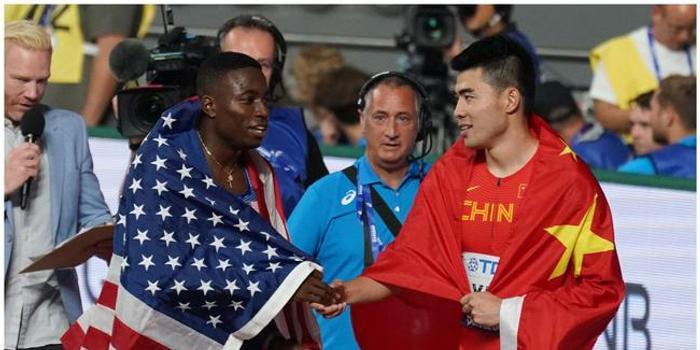 多哈田径世锦赛男子110米栏谢文骏第四变第五