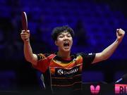 """用世乒赛铜牌打响招牌的安宰贤 19岁的""""黑马路"""""""