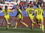 女足世界杯-瑞典2比1胜英格兰 世界杯三度摘铜