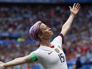 怼特朗普最狠无视美国国歌那位 她是女足世界第一人
