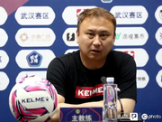 陈懋:比赛不敢轻易换人 希望年轻球员快速成长