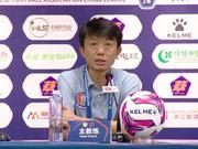 黄勇:防守二点球出问题 好好总结打好下阶段