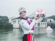 杭州国际赛张维维-14杆全场最低夺冠 1季3冠创纪录