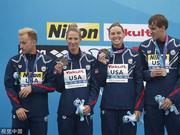 游泳世锦赛5公里接力德国夺冠 中国第九半程第二