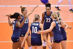 女排世界杯美国3-0巴西夺5连胜 荷兰遭塞替补逆袭