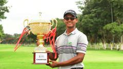 亚巡印度赛本土新人马达帕夺冠 实现个人亚巡首冠