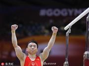 体操世锦赛男线中日俄PK 女队体能和腿部力量欠缺