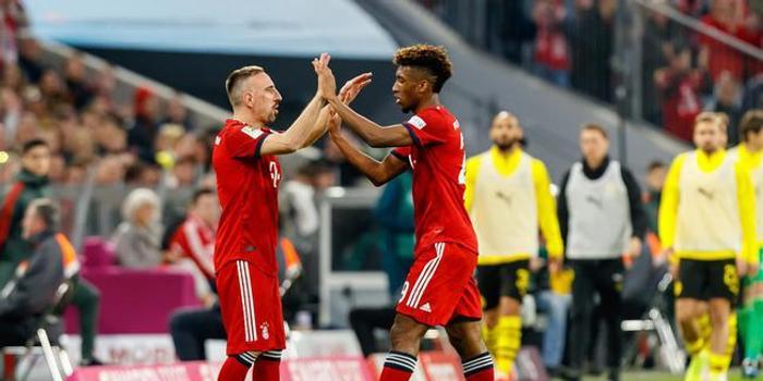 里贝里:拜仁仍需要我的力量 大多队友都听我的