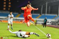U19女足锦标赛-杨倩射门中柱 中国0-0闷平泰国