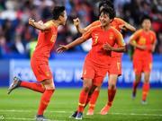 FIFA排名中国女足保持稳定 世界第16亚洲第四位