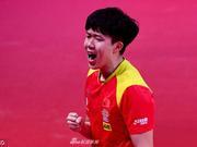跨局打出9-0小高潮 王楚钦4-2马龙进澳乒赛决赛