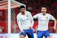 足协杯-刘洋染红张弛定胜 十人鲁能2-0上港进决赛