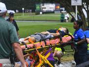 巡回锦标赛发生雷击中断比赛 六人因松树打断受伤