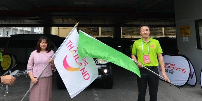 2019中国-东盟国际汽车拉力赛泰国曼谷发车