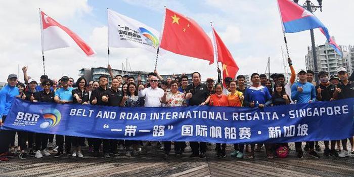 国际帆船赛第三站举行 青少年选手齐聚新加坡
